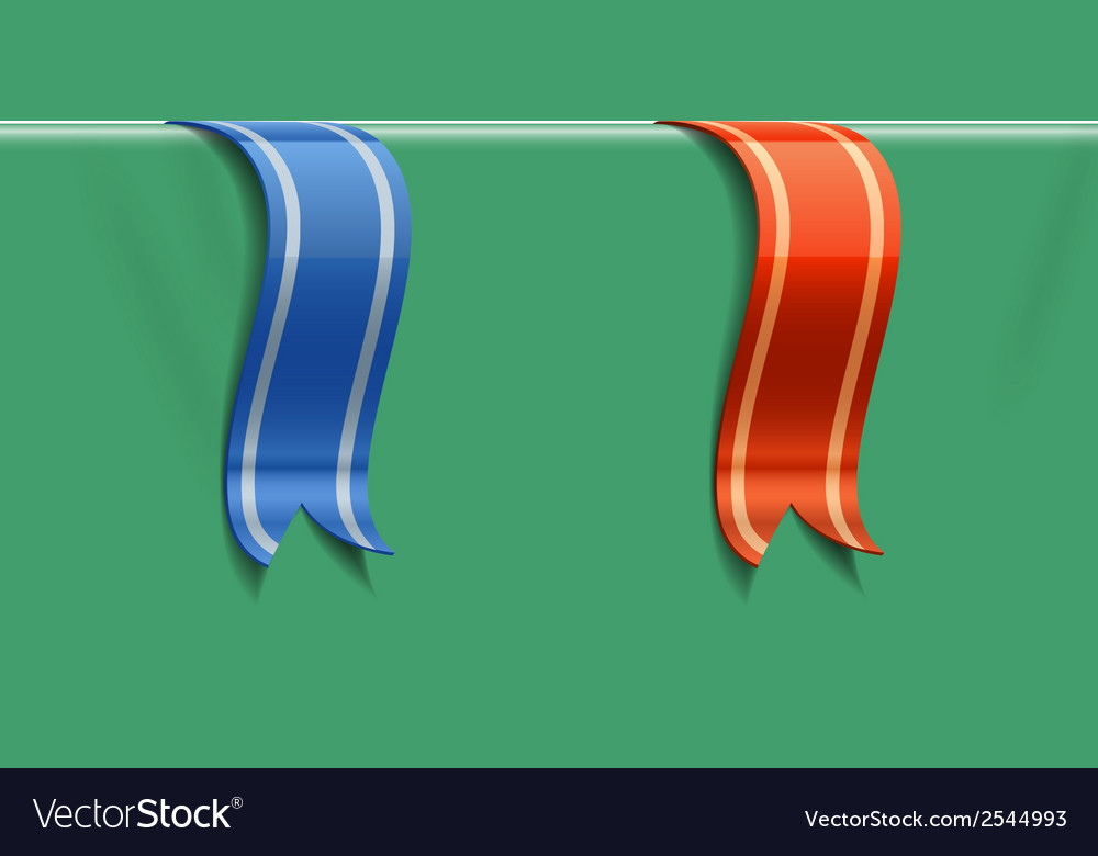 Decoration ribbons vector | Price: 1 Credit (USD $1)
