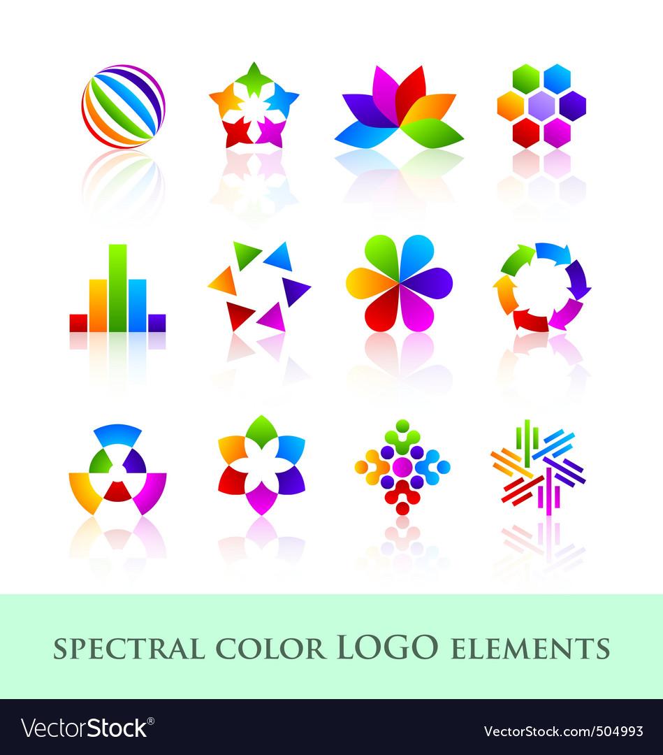 Logo design elements vector | Price: 1 Credit (USD $1)