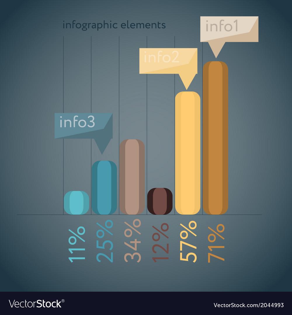 Minimal infographics vector | Price: 1 Credit (USD $1)