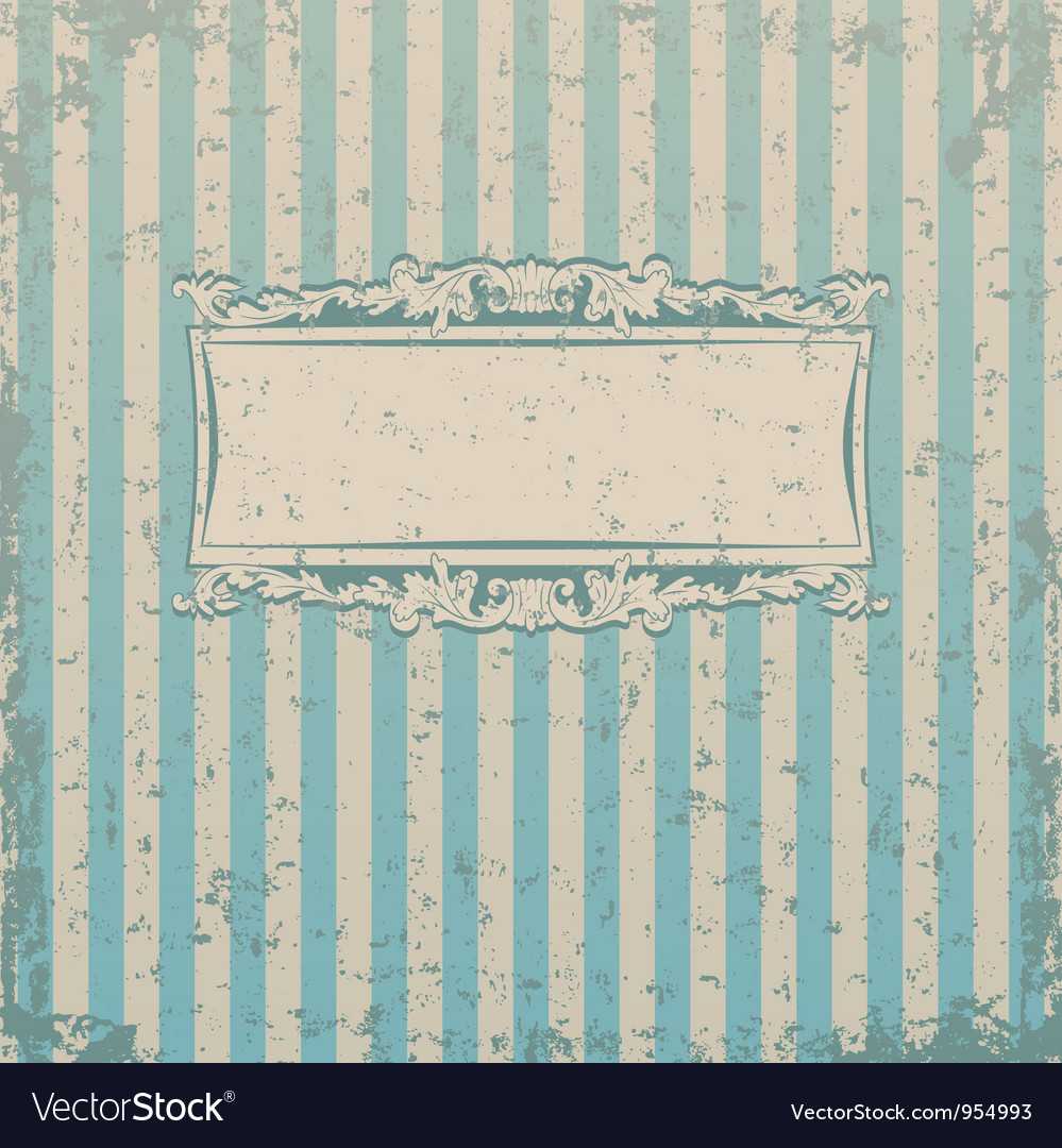 Striped retro background vector | Price: 1 Credit (USD $1)