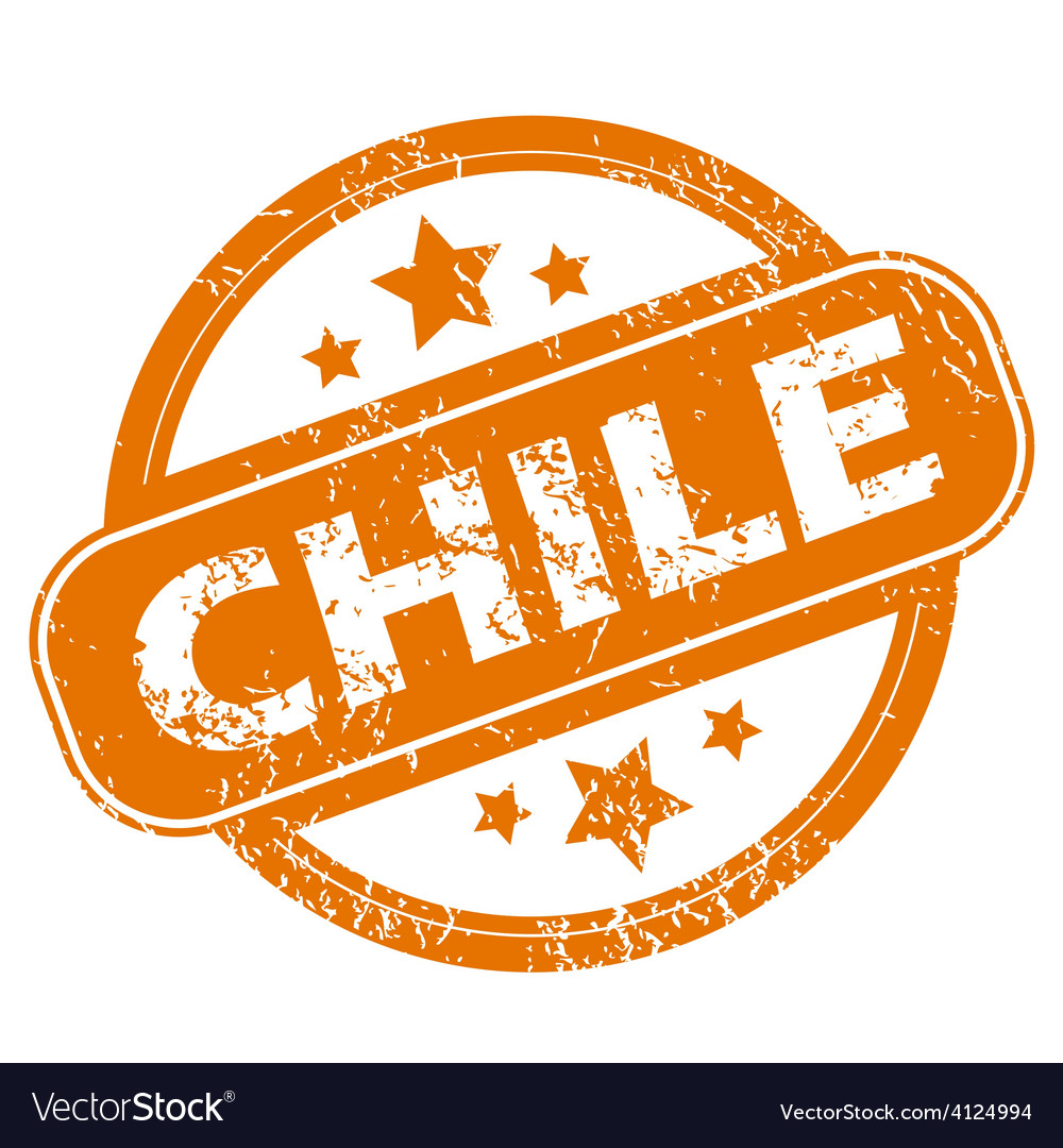 Chile grunge icon vector | Price: 1 Credit (USD $1)