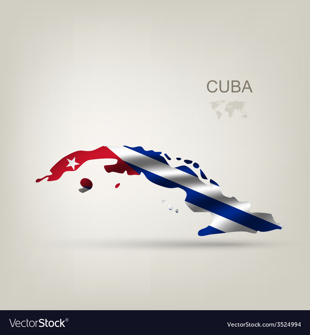 Flag of cuba as a country vector | Price: 1 Credit (USD $1)