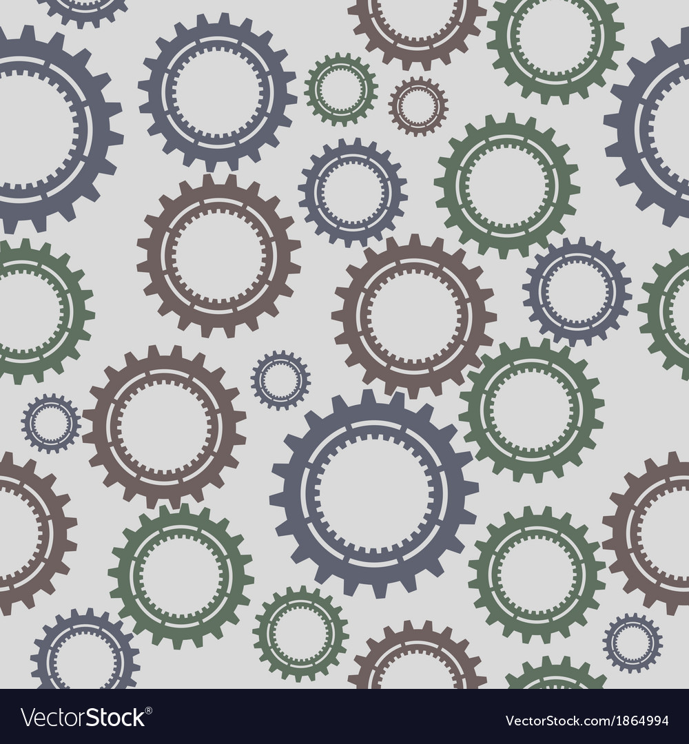 Pattern seamless gear vector | Price: 1 Credit (USD $1)