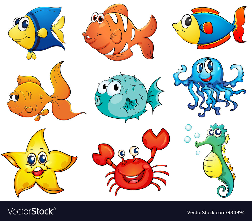 Tropical fishes vector | Price: 1 Credit (USD $1)