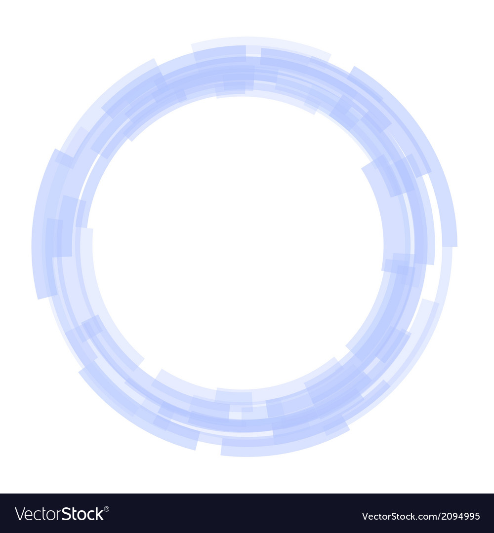 Abstract technology blue circles background vector   Price: 1 Credit (USD $1)