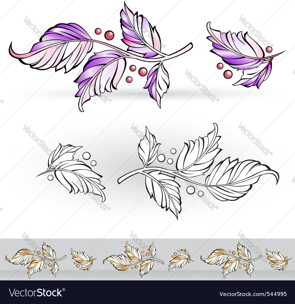 Flora design vector | Price: 1 Credit (USD $1)