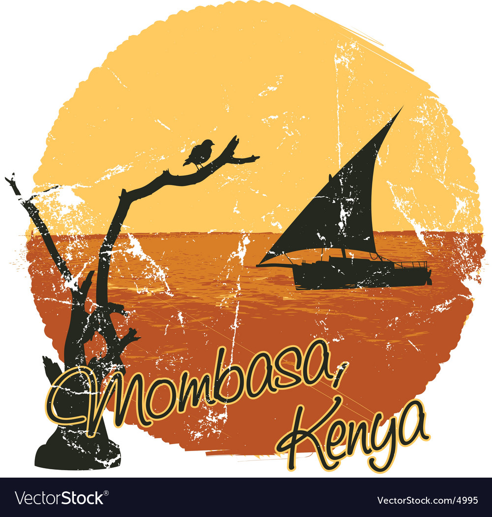 Mombasa vector | Price: 1 Credit (USD $1)