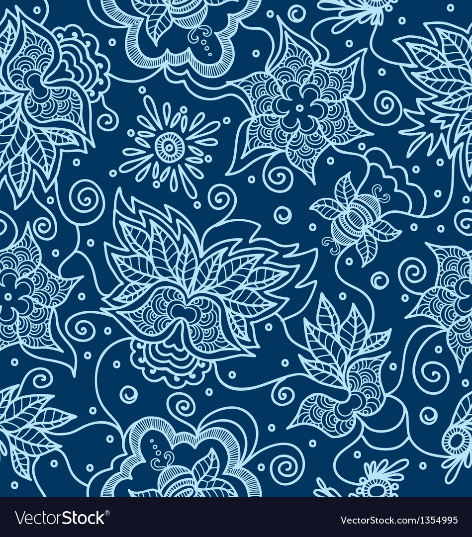 Pattern with indian design elements vector | Price: 1 Credit (USD $1)