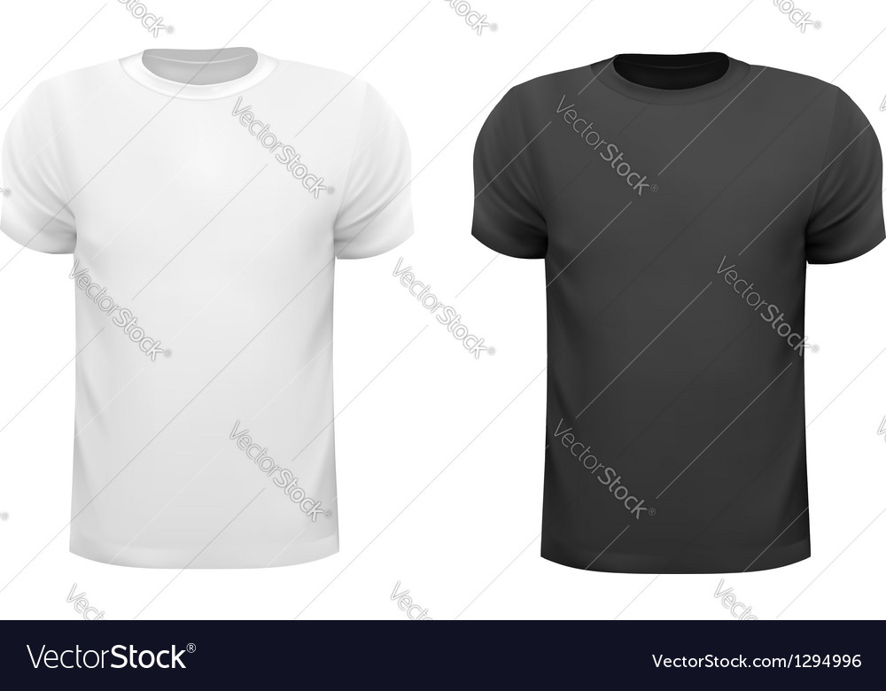 Black and white men polo shirts design template vector | Price: 1 Credit (USD $1)