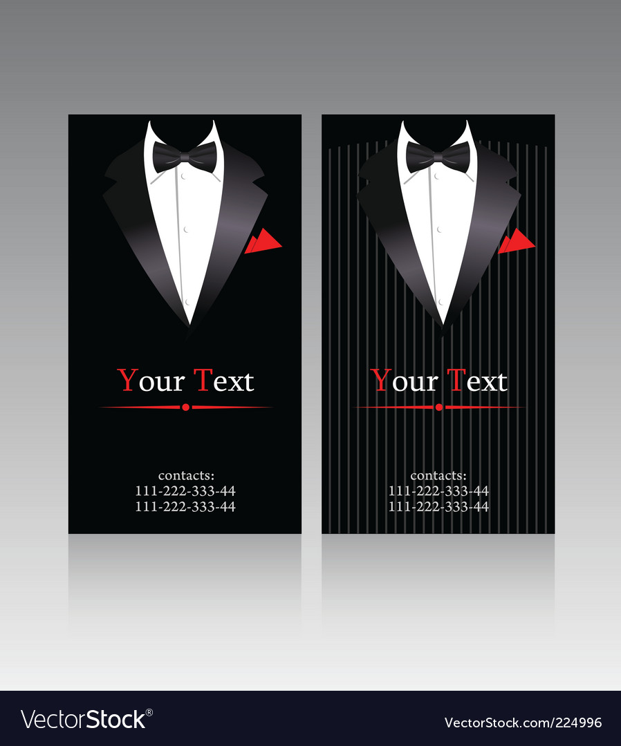 Elegant suits vector | Price: 3 Credit (USD $3)