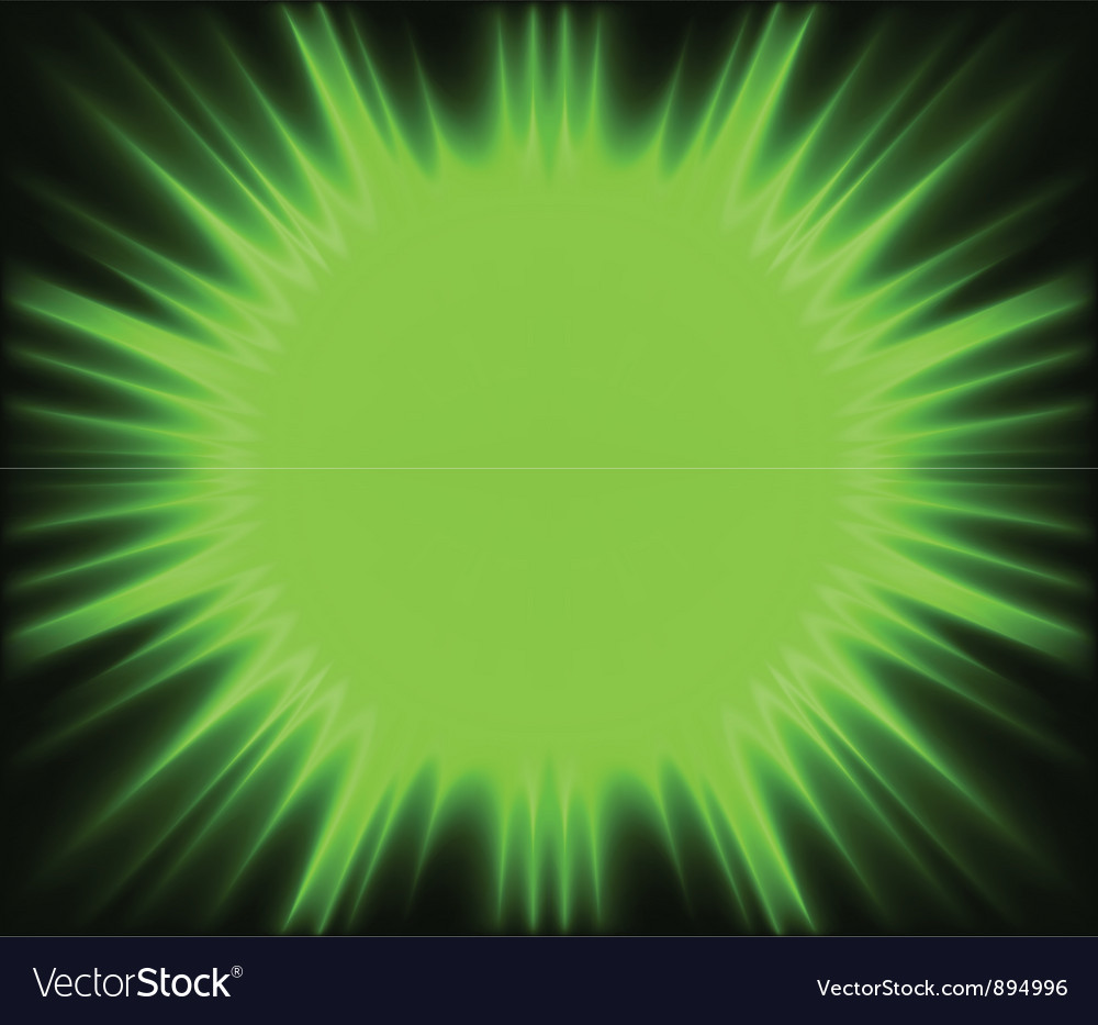 Green corona vector | Price: 1 Credit (USD $1)