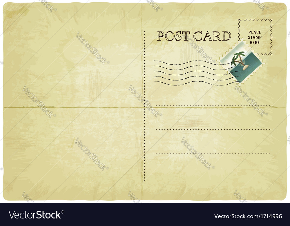 Old postcard vector | Price: 1 Credit (USD $1)