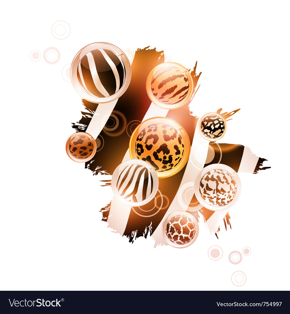 Abstract wild decoration vector | Price: 3 Credit (USD $3)