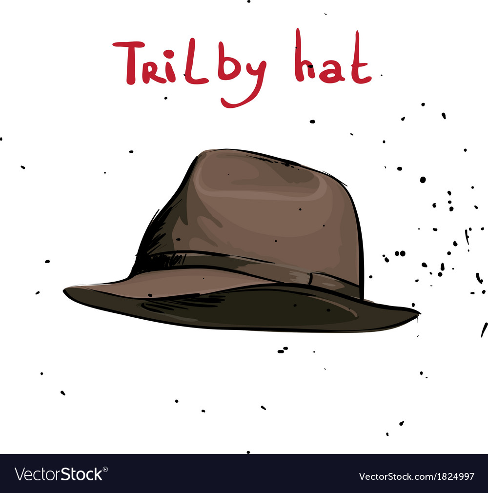 Classic hat vector | Price: 1 Credit (USD $1)