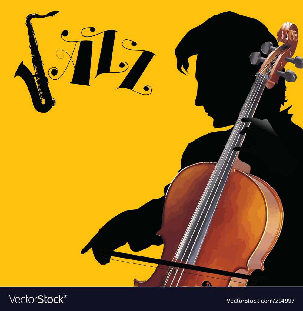 Cover violoncello vector | Price: 1 Credit (USD $1)