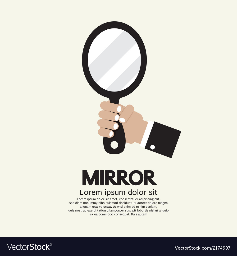 Mirror vector | Price: 1 Credit (USD $1)