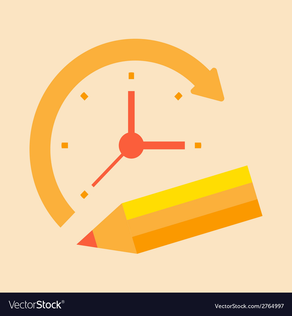 Time notes vector | Price: 1 Credit (USD $1)