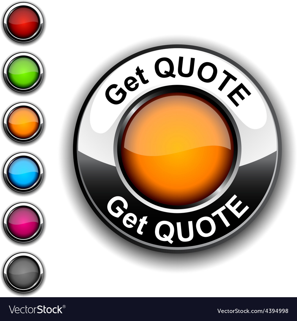 Get quote button vector | Price: 1 Credit (USD $1)