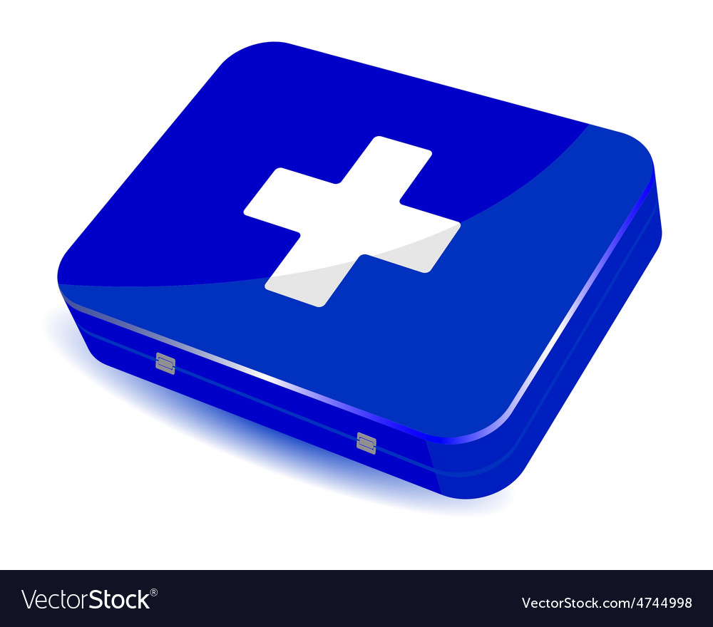 Home first aid kit vector | Price: 1 Credit (USD $1)