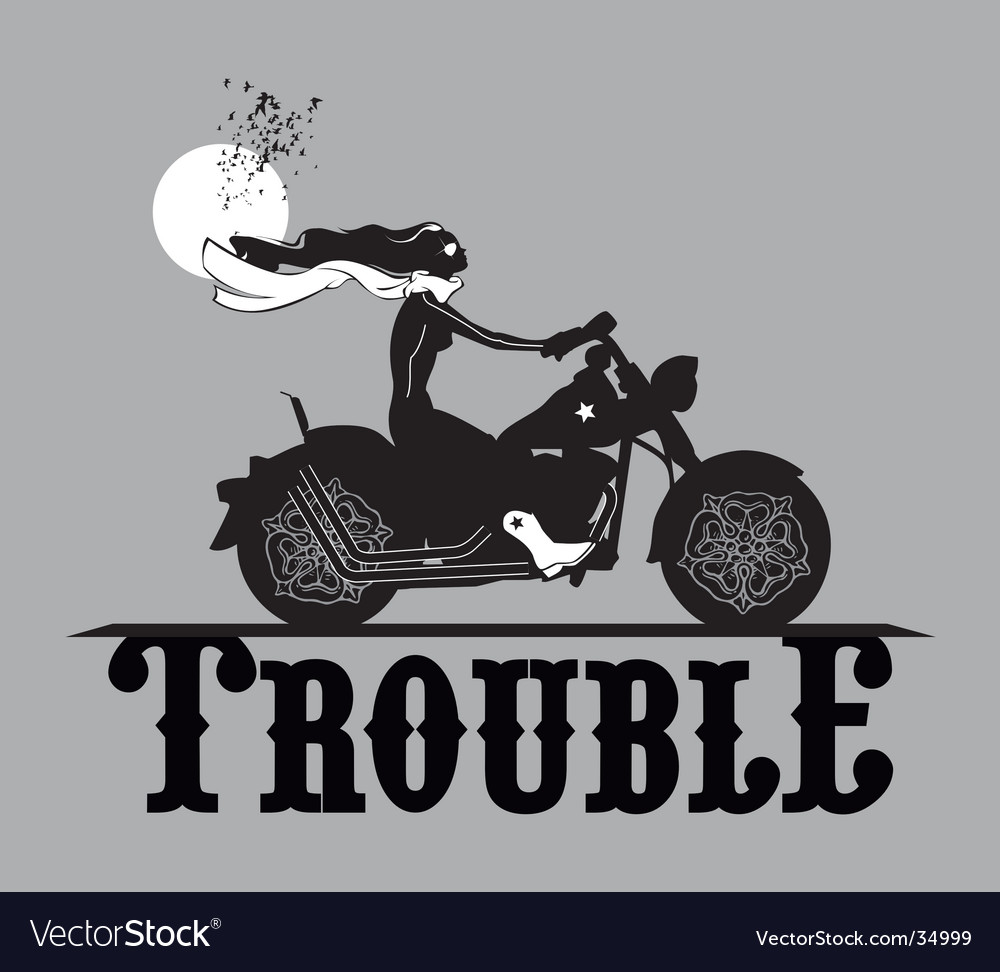 Trouble maker vector | Price: 1 Credit (USD $1)