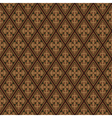 Red brown colors damask style pattern design vector