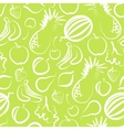 Seamless background with fruit vector
