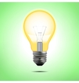 Incandescent electric lamp in format vector