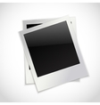 Photo frames isolated vector