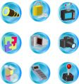 Internet web icons vector
