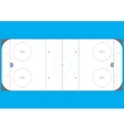 Field for playing hockey vector
