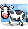 Calf baby farm animal cartoon vector