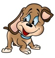 Puppy dog vector