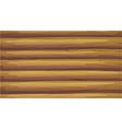 An empty wooden board vector