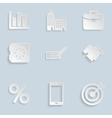 Business paper icons set vol 2 vector