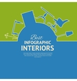 Flat colors infographics vector