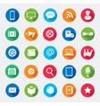 Modern media design elements vector