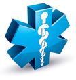 Emergency ambulance medicine symbol vector