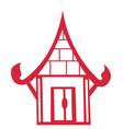 Chinese house vector