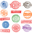 0010 grunge commercial stamps vector