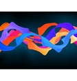 Dark colorful abstract background eps 8 vector