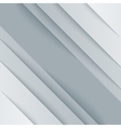 Abstract gray and white paper triangle shapes vector