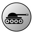 Tank button vector