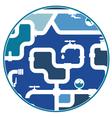 Pipeline design vector