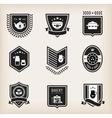 Kitchen badges vector