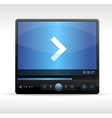 Video player skin vector