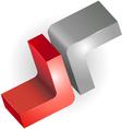 3d sign or symbol graphic design vector