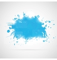Abstract background with blue paint splashes vector