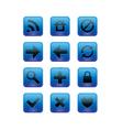 Web elements blue vector