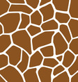 Giraffe skin seamless pattern vector
