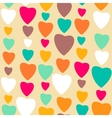Retro style abstract seamless pattern valentines vector
